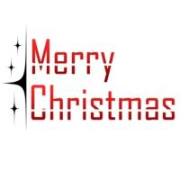Logo of radio station Merry Christmas