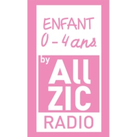 Logo of radio station Allzic Radio ENFANTS  0/4 ANS