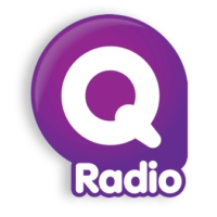 Logo of radio station Q Radio Mid Antrim