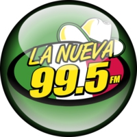 Logo of radio station La Nueva 99.5
