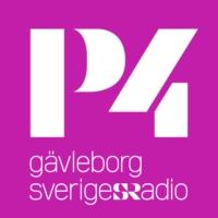 Logo of radio station Sveriges Radio - P4 Gävleborg