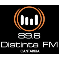Logo of radio station Distinta FM