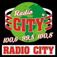 Logo of radio station Radio City 100.6