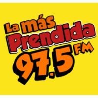 Logo de la radio XHHP La Más Prendida 97.5 FM