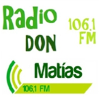 Logo of radio station Don Matias 106.1 FM