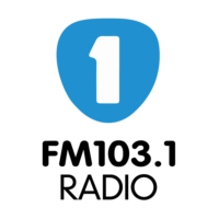 Logo of radio station La UNO 103.1