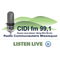 Logo of radio station CIDI 99.1