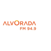 Logo of radio station Alvorada FM 94.9