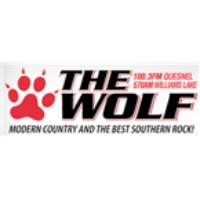 Logo of radio station CKCQ The Wolf