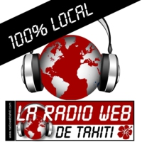 Logo of radio station La Radio Web de Tahiti 100% local