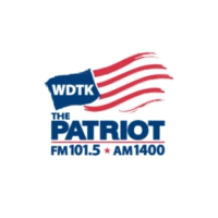 Logo of radio station WDTK AM 1400