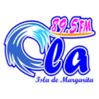Logo of radio station Ola 89.5 FM Valencia