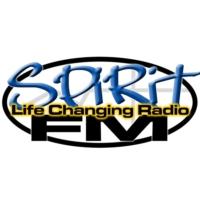 Logo of radio station KCVO Spirit FM The Positive Difference