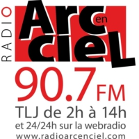 Logo of radio station Radio Arc-en-Ciel