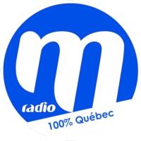 Logo of radio station M Radio 100% Quebec