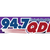 Logo of radio station WQDR 94.7