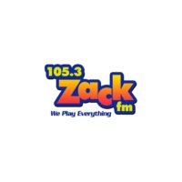 Logo of radio station 105.3 Zack FM