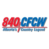 Logo of radio station 840 CFCW