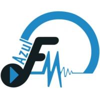 Logo de la radio Azul FM 98.4 & 98.6