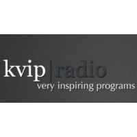 Logo of radio station KVIP