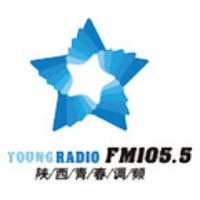 Logo of radio station Shaanxi Young Radio 105.5