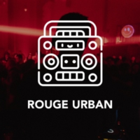 Logo of radio station Rouge Urban