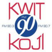 Logo of radio station KWIT KOJI