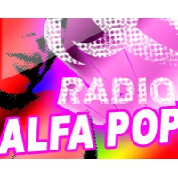 Logo of radio station Radio Alfa Pop