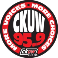 Logo of radio station 95.9 CKUW