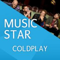 Logo of radio station 105 Music Star - Coldplay