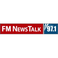 Logo of radio station 97.1 FM Talk