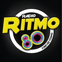 Logo of radio station Ritmo 80