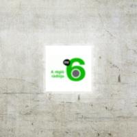 Logo of radio station MR6 Szeged Radio