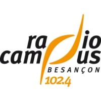 Logo de la radio Radio Campus Besançon 102.4 FM