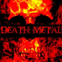 Logo of radio station Death Metal!
