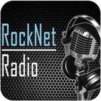 Logo of radio station RockNet Radio