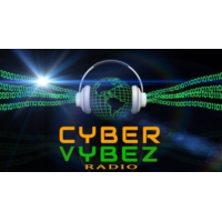 Logo of radio station Cyber Vybez Radio