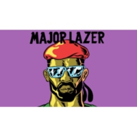 Logo de la radio Major Lazer - the radio