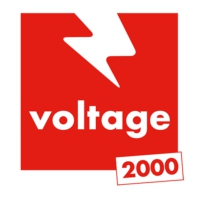 Logo de la radio Voltage 2000
