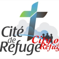 Logo of radio station Cite de Refuge