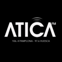 Logo of radio station ATICA FM