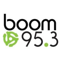 Logo de la radio CJXK-FM boom 95.3 FM