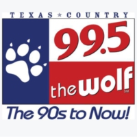 Logo of radio station KPLX-FM 99.5 The Wolf