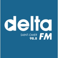 Logo of radio station Delta FM Saint Omer