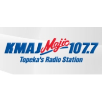 Logo of radio station KMAJ Majic 107.7