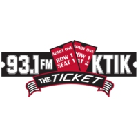 Logo de la radio KTIK The Ticket 93.1