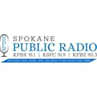 Logo of radio station KPBX 91.1