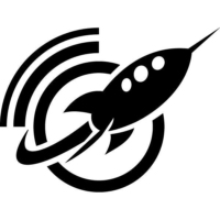 Logo of radio station Rocket FM