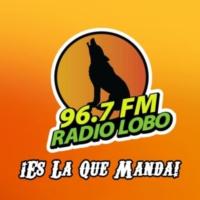 Logo of radio station XHY-FM Radio Lobo 96.7