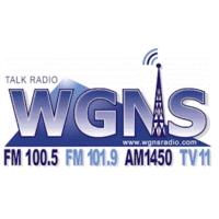 Logo of radio station WGNS
